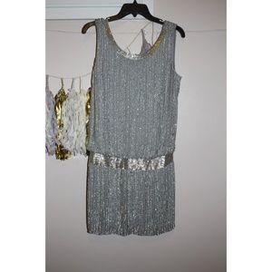New Adrianna Pappell bead tank dress